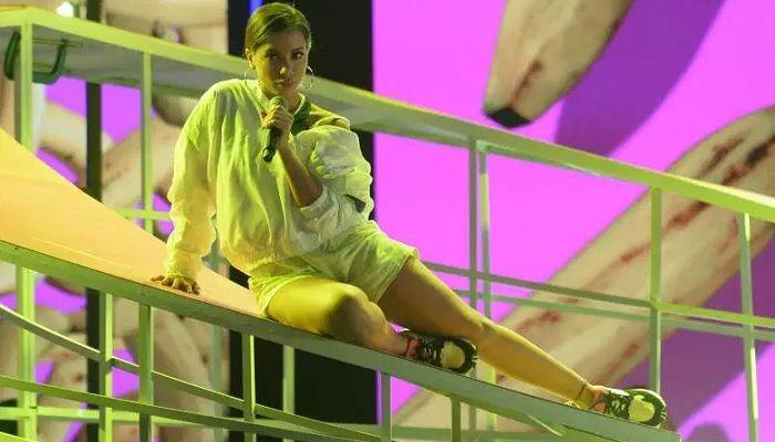 Anitta en los premios Latin Billboard - Formula Entretenimiento