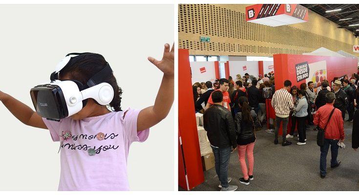 Realidad virtual en la Feria del Hogar - Formula Entretenimiento