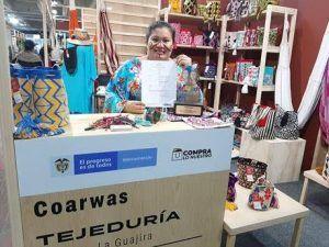 Irene Katherine Jayariyú Ipuana, Artesana Wayuú, Representante de la marca Coarwas - Formula Entretenimiento
