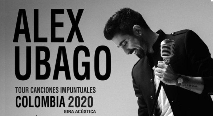 Alex Ubago - Colombia 2020 - Fórmula Entretenimiento