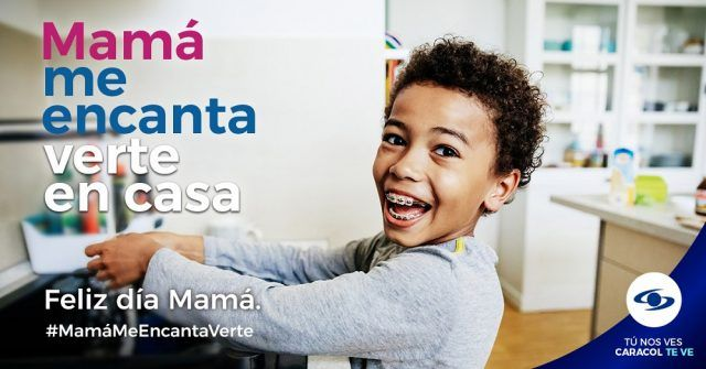 Mamá me encanta verte en casa - Fórmula Entretenimiento