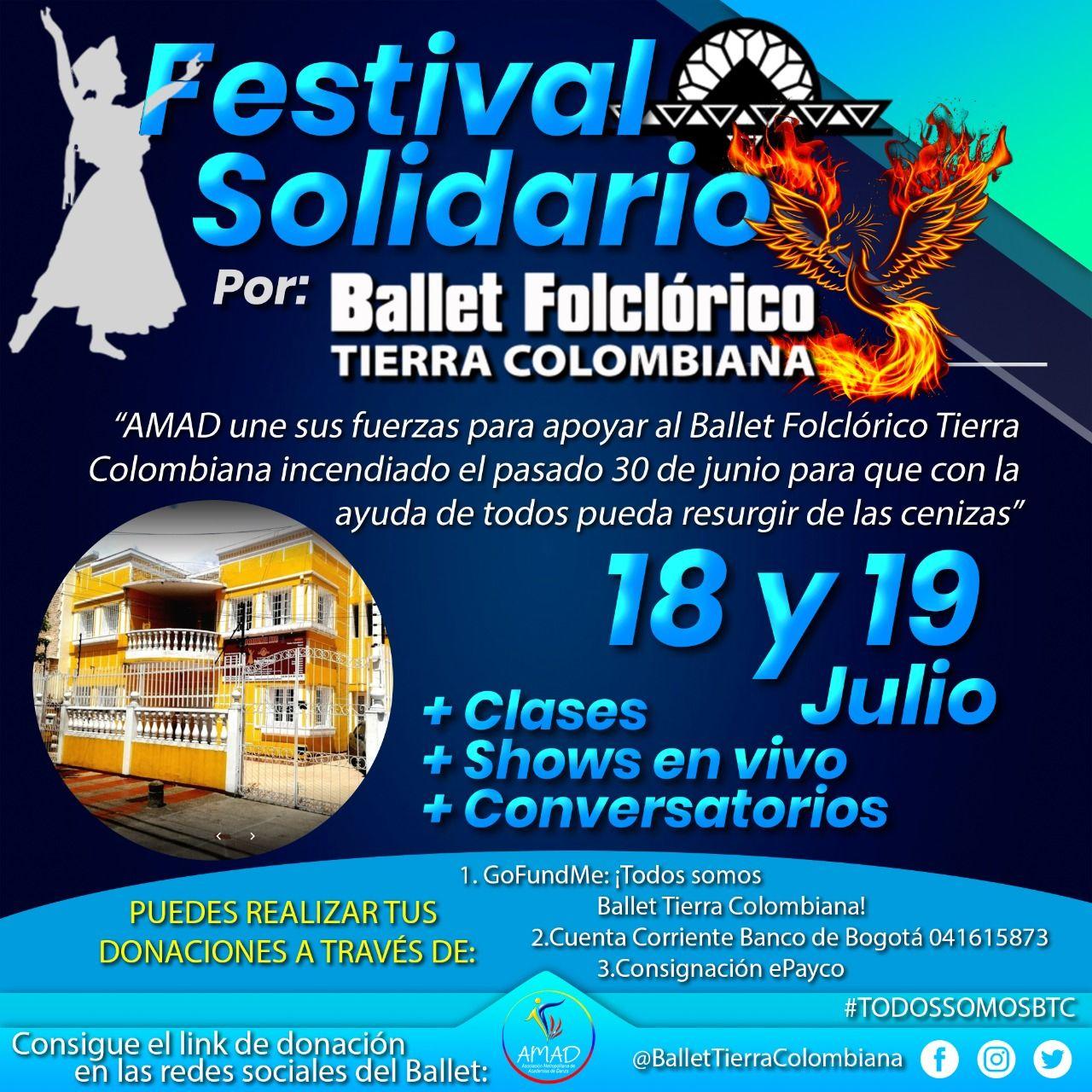 Festival Solidario - Fórmula Entretenimiento