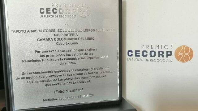Premios CECORP - Fórmula Entretenimiento
